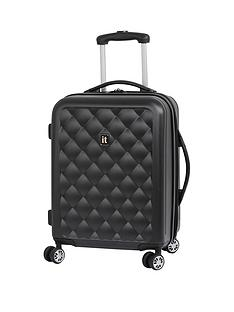 it-luggage-quilted-hardshellnbsp8-wheel-cabin-case