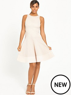 rochelle-humes-panel-skater-dress