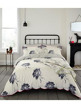 joules-monochrome-regency-floral-duvet-cover-cream
