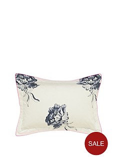 joules-monochrome-regency-floral-oxford-pillowcase