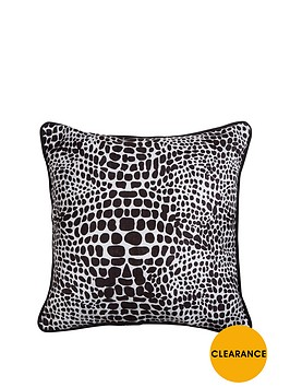fearne-cotton-snake-print-cushion