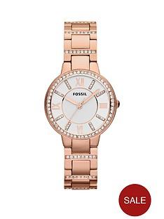 fossil-virginia-stainless-steel-bracelet-silver-ladies-watch