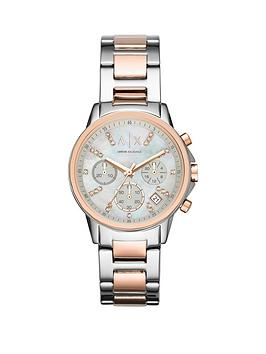 Armani Exchange Armani Exchange Ladies Chronograph Watch