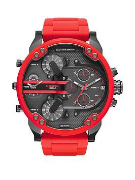 diesel-chief-black-and-red-ip-mens-watch