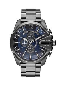 diesel-diesel-mega-chief-blue-dial-and-gunmetal