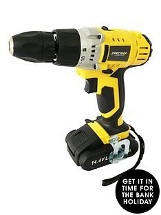 precision-new-precision-144v-lithium-ion-cordless-drill