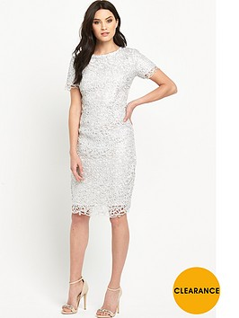 v-by-very-metallic-lace-midi-pencil-dress