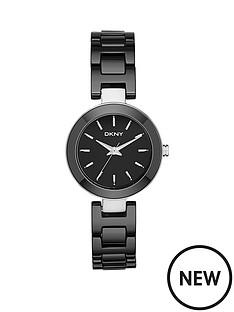 dkny-dkny-fasion-stanhope-analogue-ceramic-black-bracelet-ladies-watch