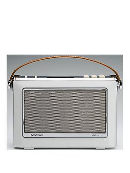 Goodmans Oxford Ll Bluetooth&Reg Dab Radio  Porcelain