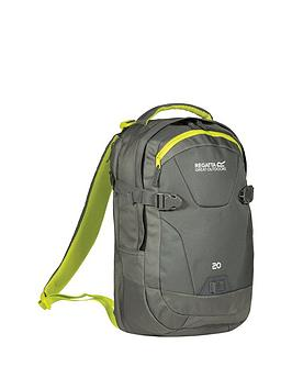 regatta-20-litre-laptop-backpack--nbspgrey