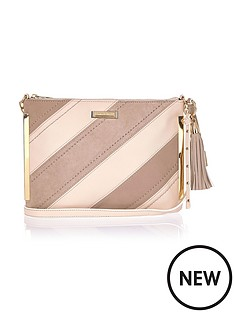 river-island-river-island-diagonal-stripe-cross-body-bag