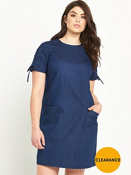 so-fabulous-denim-tie-sleeve-dress