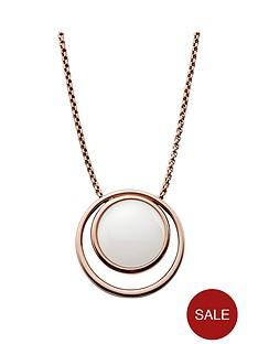 skagen-sea-glass-rose-gold-tone-pendant