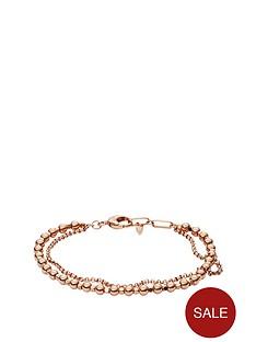fossil-rose-gold-tone-multi-layered-bead-bracel