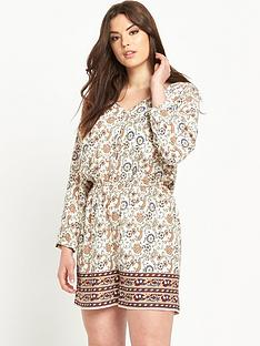 so-fabulous-print-button-front-playsuit
