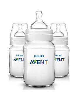 Avent Classic Feeding AntiColic Bottle 260Ml9Oz Triple