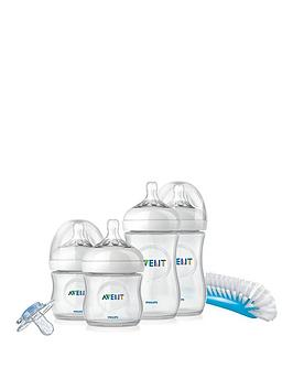Avent Natural Newborn Starter Set With Soother