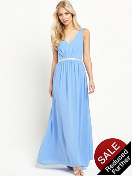 jarlo-cristobelnbspembellished-waist-maxi-dress