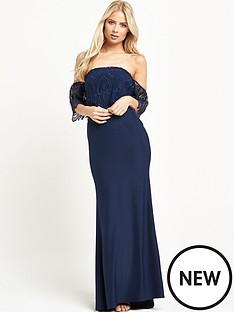jarlo-jarlo-sabrina-lace-shoulder-maxci-dress