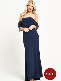 jarlo-sabrina-lace-shoulder-maxi-dress