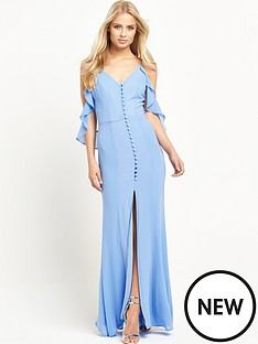 jarlo-jarlo-cora-cold-shoulder-maxi-dress