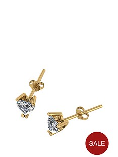moissanite-9ct-gold-70-point-heart-earrings
