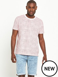 v-by-very-short-sleeve-crew-neck-hand-drawn-stripe-t-shirt