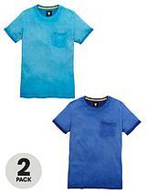 Oil WashT-Shirts (2 Pack)