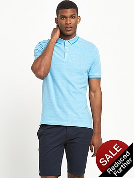 v-by-very-short-sleeve-birdseye-polo