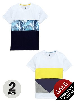 v-by-very-2-pack-fashion-printed-tees