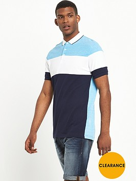 v-by-very-short-sleeve-colournbspblock-polo