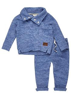river-island-mini-boys-funnel-neck-jumper-and-joggers-set