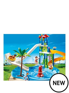playmobil-water-park-with-slides