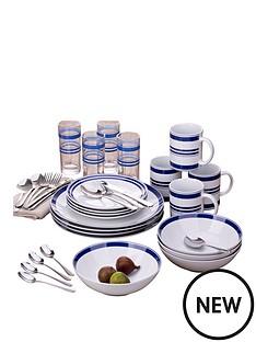 bistro-stripe-36-piece-blue-dinner-set
