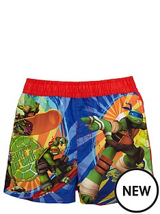 character-turtles-board-shorts