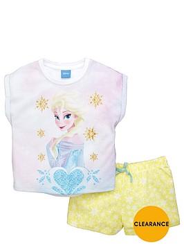 disney-frozen-girls-elsa-shortynbsppyjamas