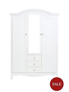 arabellenbsp3-door-3-drawer-mirrored-wardrobe