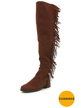 miss-selfridge-fringe-over-the-knee-boot