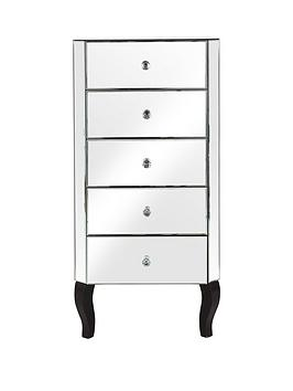 vegas-mirrored-5-drawer-narrow-chest