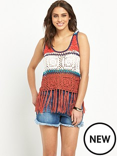 v-by-very-striped-crochet-tassel-crop-top