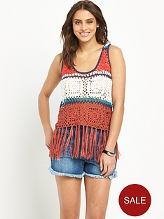 v-by-very-striped-crochet-tassel-crop-top