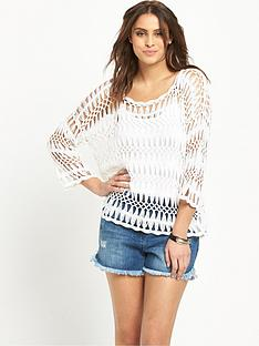 v-by-very-34-sleeve-macrameacutenbspweave-crochet-jumper