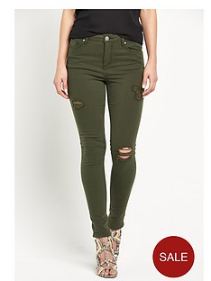 miss-selfridge-lizzie-ripped-skinny-jeansnbsp