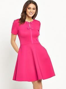 ted-baker-bow-detail-neoprene-dress