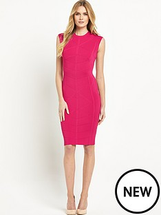 ted-baker-bodycon-jacquard-knitted-dress