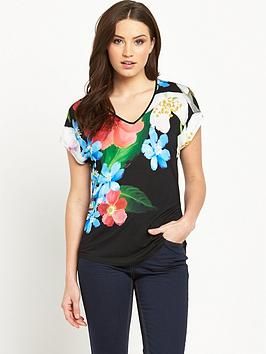 ted-baker-forget-me-not-floral-print-tee