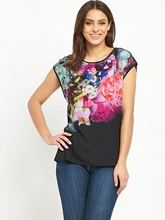 ted-baker-ted-baker-focus-bouquet-woven-front-tee