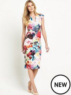 ted-baker-floral-swirl-print-dress