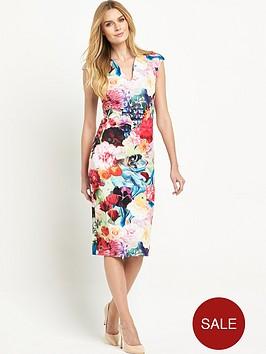 ted-baker-floral-swirl-print-dress