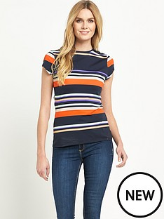 ted-baker-stripe-short-sleeve-top